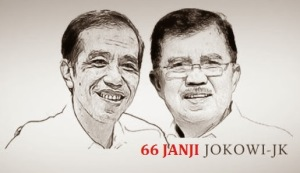 66 Janji Jokowi-JK