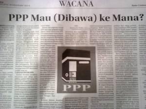 PPP mau ke mana