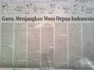 Guru, mengjangkau ms dpn Indonesia_n
