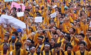 Aksi Mahasiswa Melawan Keangkuhan Pemerintah