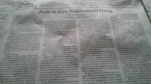 Dimuat di Koran Malut Post Sabtu 22 Agustus 2015