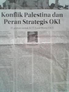 Peran Strategis OKI