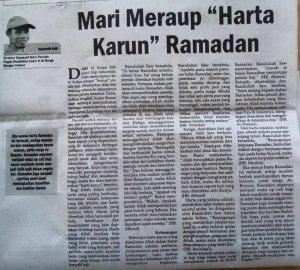 Meraup harta karun ramadan