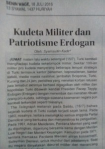 Patriotisme Erdogan
